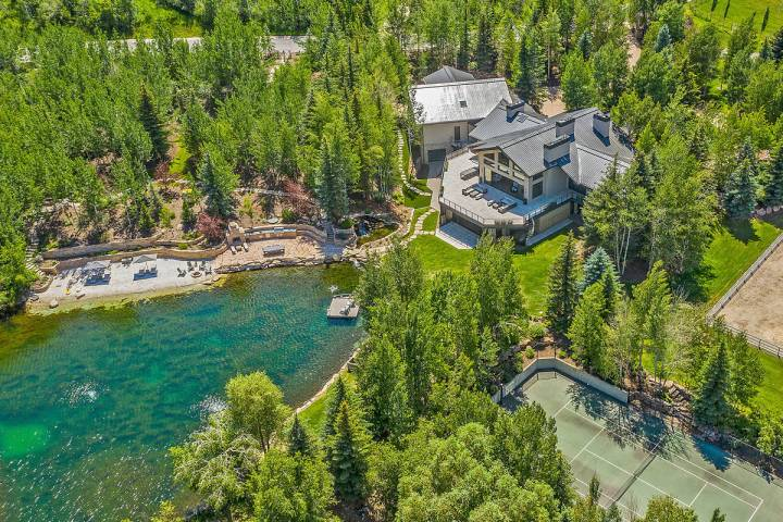 A mansion located at 2636 Aspen Springs Drive in Park City, owned by the late Tony Hsieh. (Paul ...