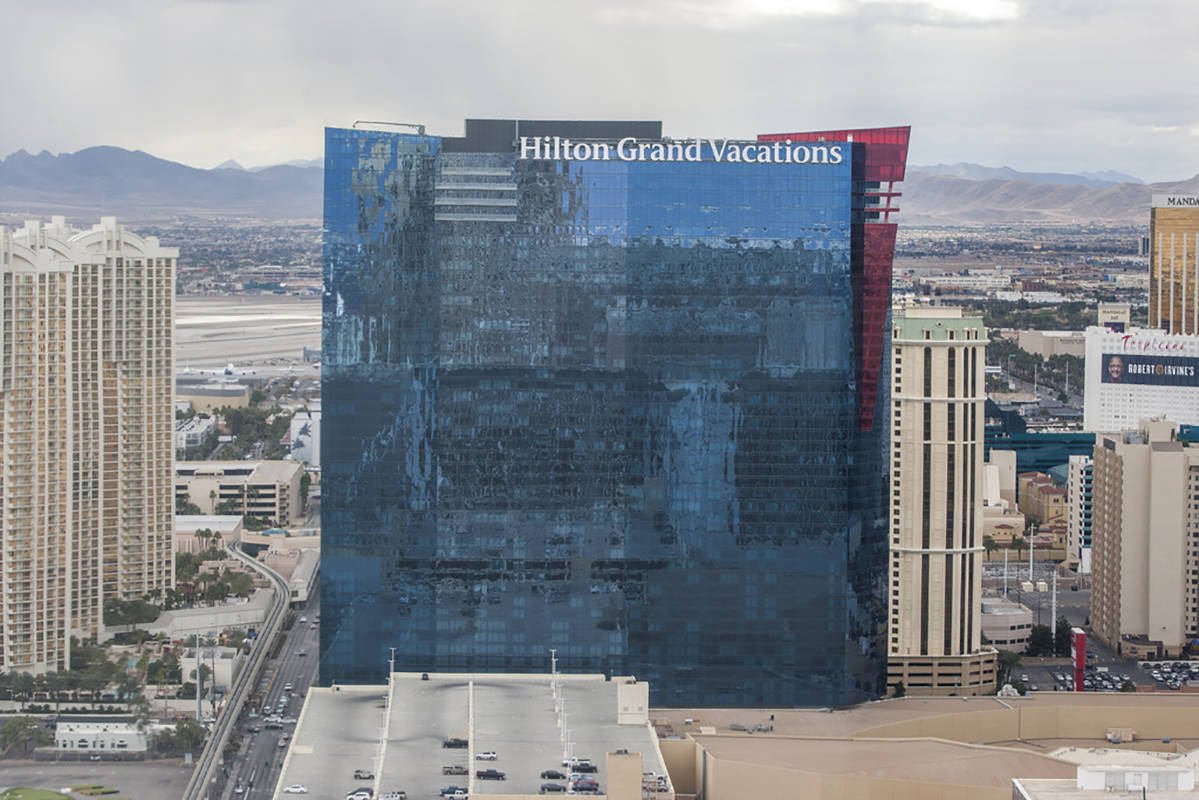 Hilton Grand Vacations in Las Vegas on Saturday, Jan. 20, 2018. (Review-Journal file photo)