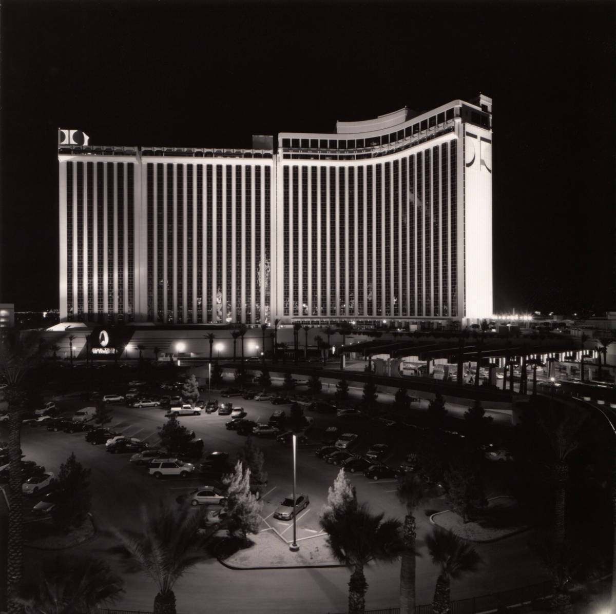 Exterior of the Las Vegas Hilton, which is now the Westgate.