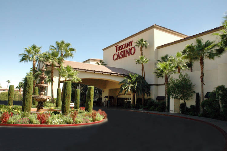 The exterior of Tuscany Suites & Hotel, 255 E. Flamingo Road. (Courtesy Tuscany Suites & Casino ...