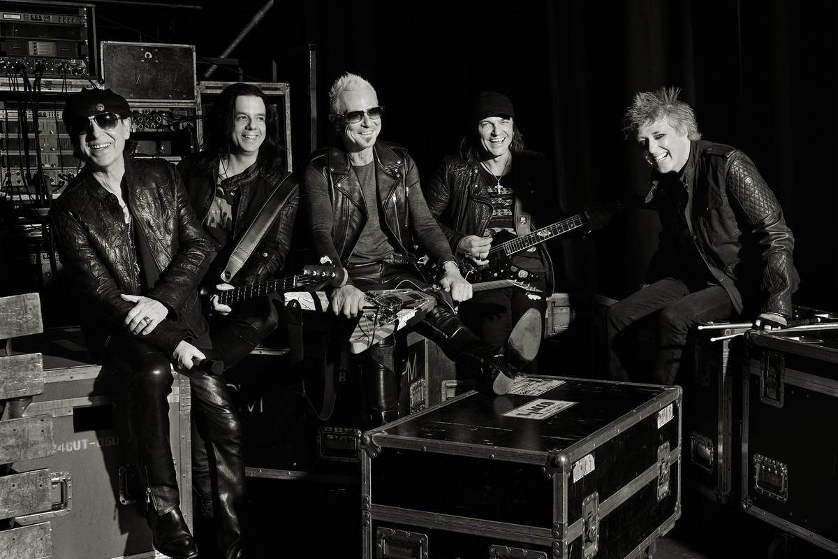 The Scorpions have moved their Planet Hollywood residency to 2021. (courtesy)