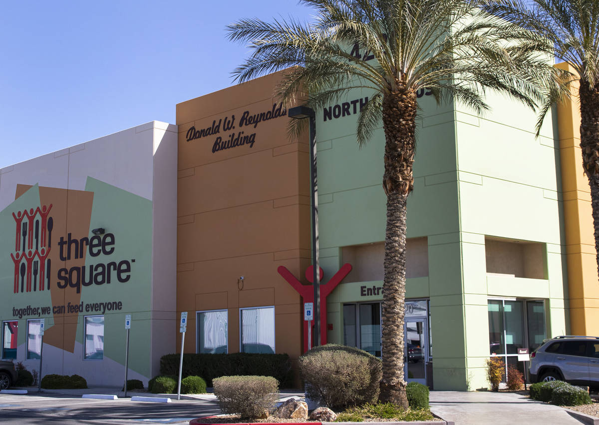 Three Square North Campus is seen, on Thursday, March, 4, 2021, in Las Vegas. (Bizuayehu Tesfay ...