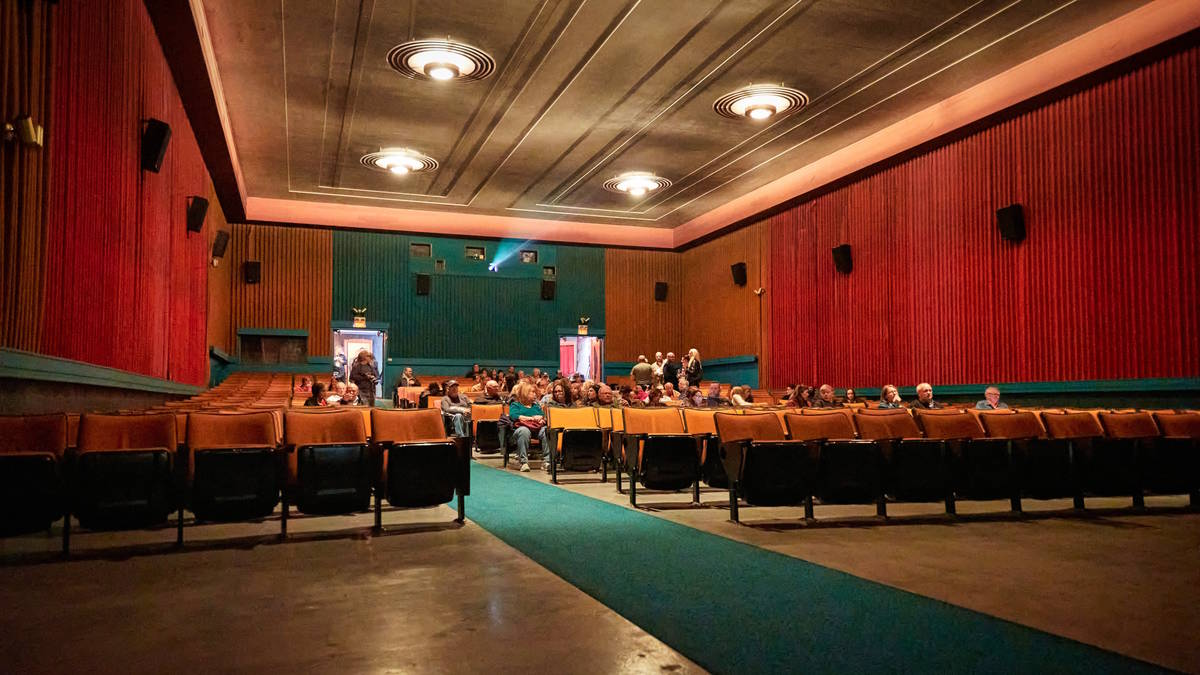 The Ely Central Theatre is shown during the Ely Film Festival, which ran March 13-15, 2020. (An ...