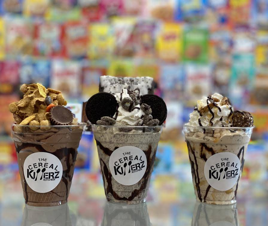 Cereal Killerz shakes can be made in numerous combinations. (Cereal Killerz)