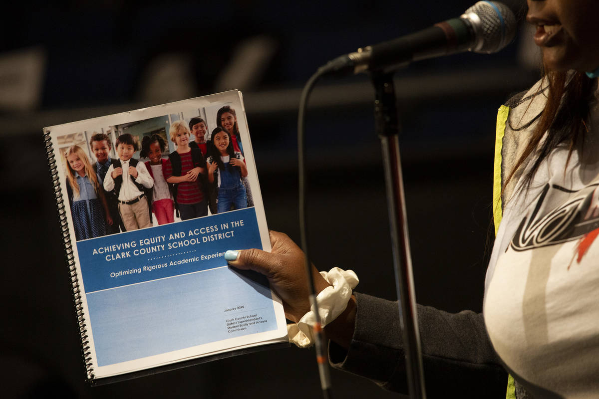 Push for anti-racism policy at Clark County School Board meeting