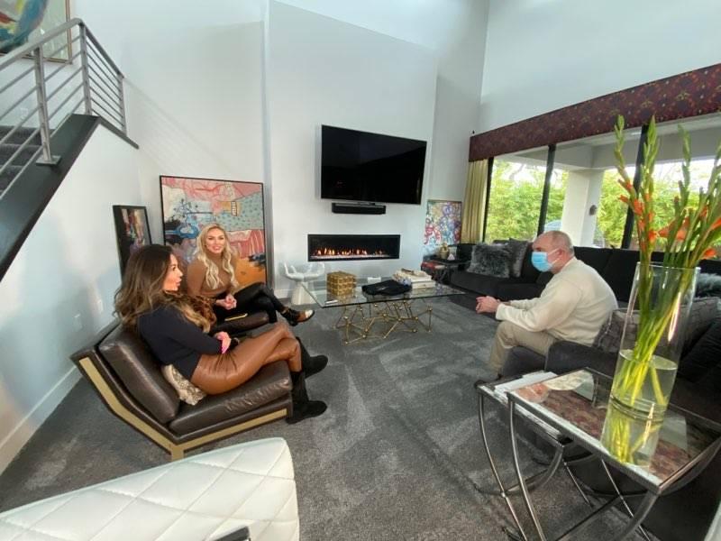 Ouse Media Group Las Vegas writer Buck Wargo talks to Las Vegas luxury Realtors Alese Morrow an ...