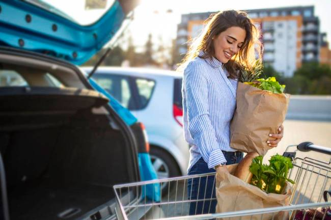Several grocery chains — including Kroger — allow you to place an online order that you can ...