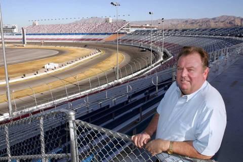SPORTS Richie Clyne at the Las Vegas Motor Speedway. 9-13-04 RJ Photo Gary Thompson
