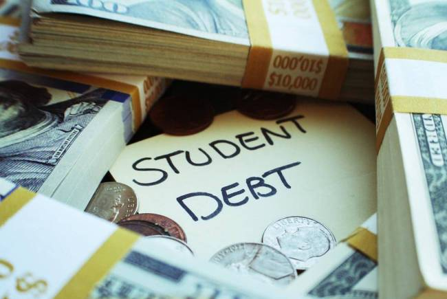 Americans owed over $1.7 trillion in student loan debt as of the third quarter of 2020, accordi ...