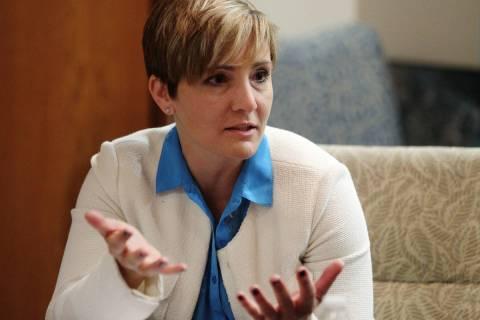 Ingrid Reisman, the former Las Vegas Monorail Co.'s senior vice president of corporate commun ...