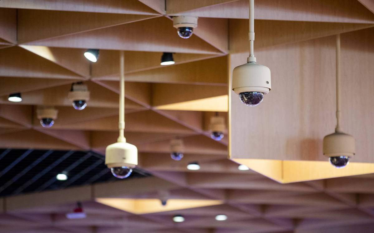 A variety of security cameras are about the main gaming area within the reimagined and re-conce ...
