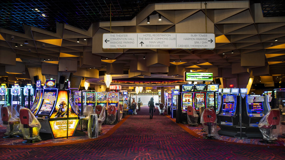 The main gaming area still to be completed within the reimagined and re-conceptualized casino r ...