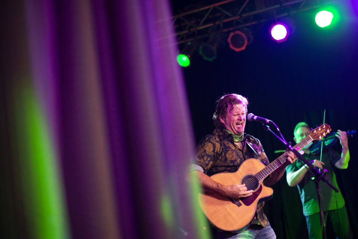The Celtic Rockers play a show at REMIX Lounge on St. Patrick's Day at The STRAT on Wednesday, ...