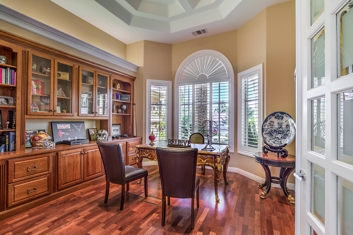 One of two formal offices. (Mark Wiley Group)