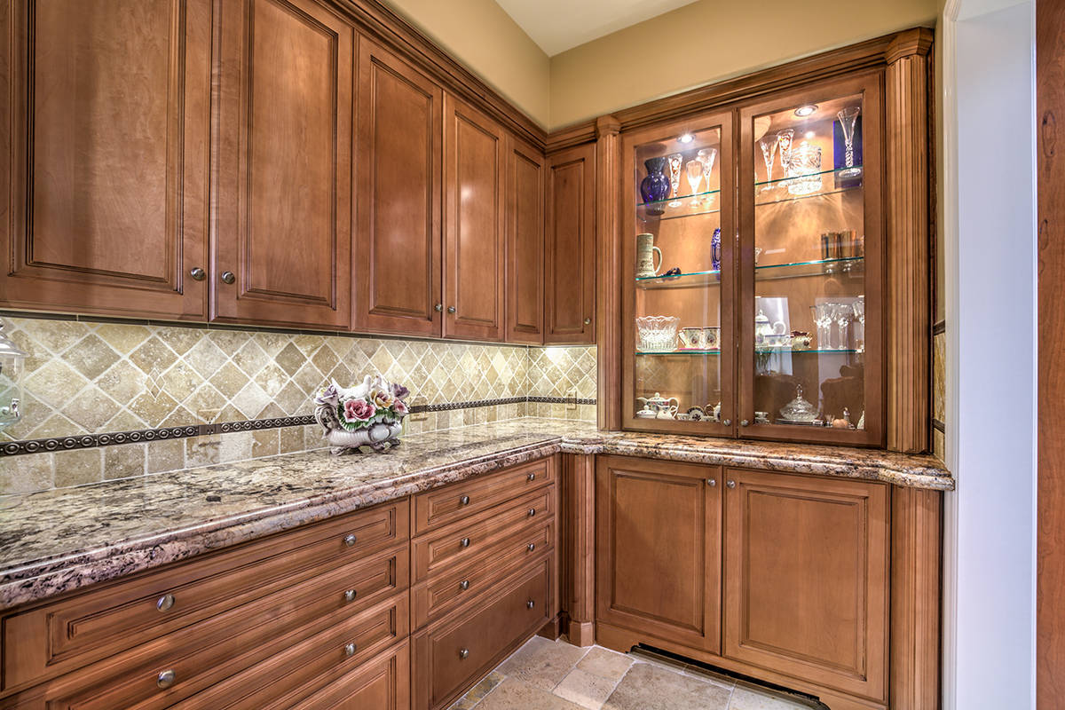 One of two kitchens in the home. (Mark Wiley Group)