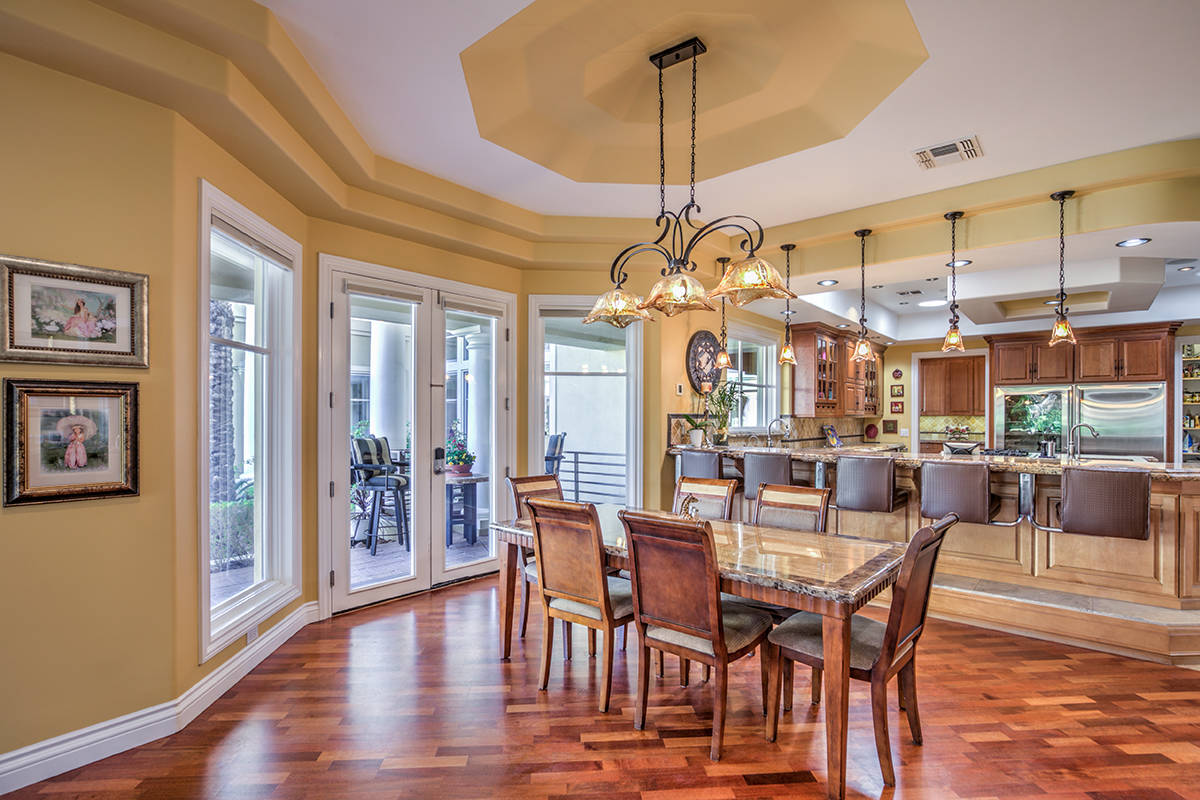 The breakfast nook. (Mark Wiley Group)