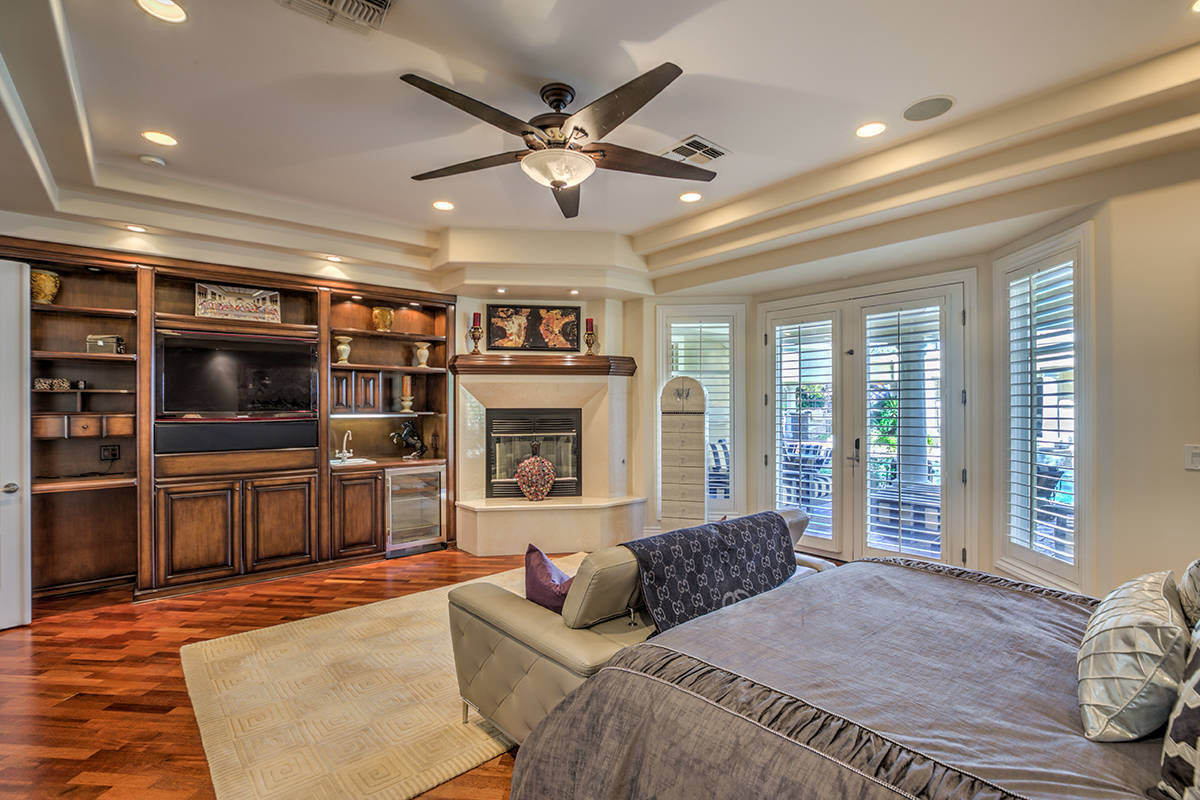 The master bedroom. (Mark Wiley Group)