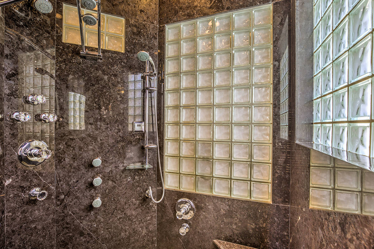 The master shower. (Mark Wiley Group)