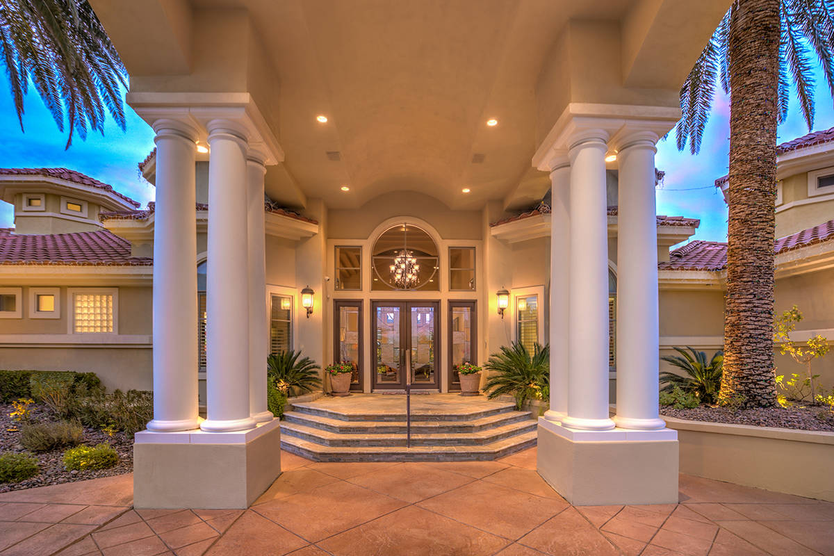 The entrance. (Mark Wiley Group)