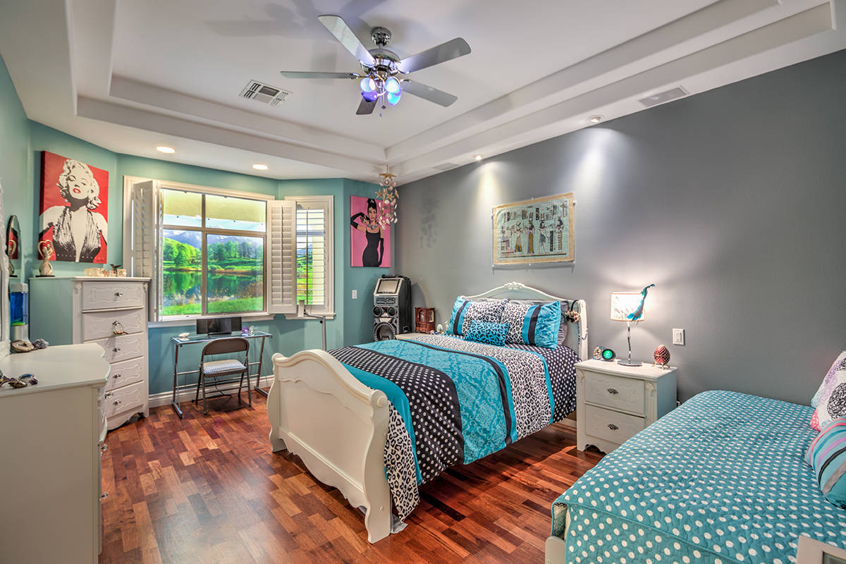 Guest bedroom. (Mark Wiley Group)
