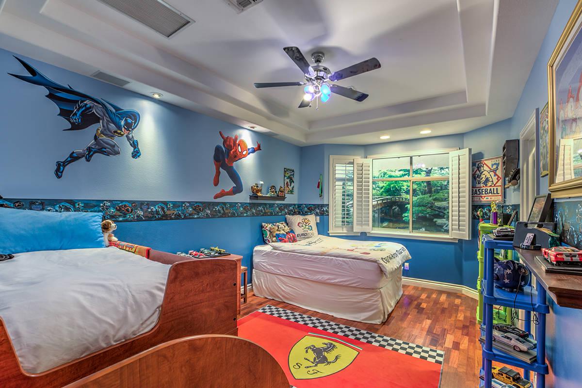 Kid's bedroom. (Mark Wiley Group)