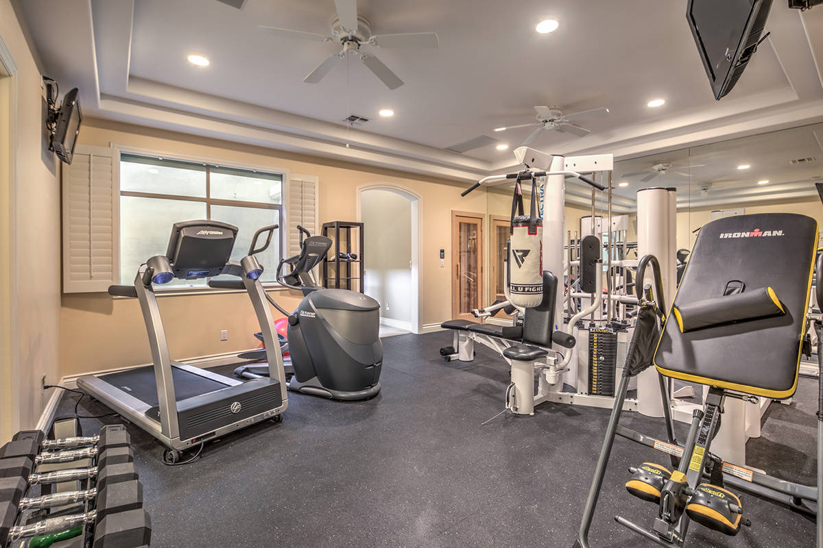 Gym. (Mark Wiley Group)