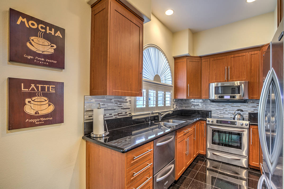 Guest house kitchen. (Mark Wiley Group)