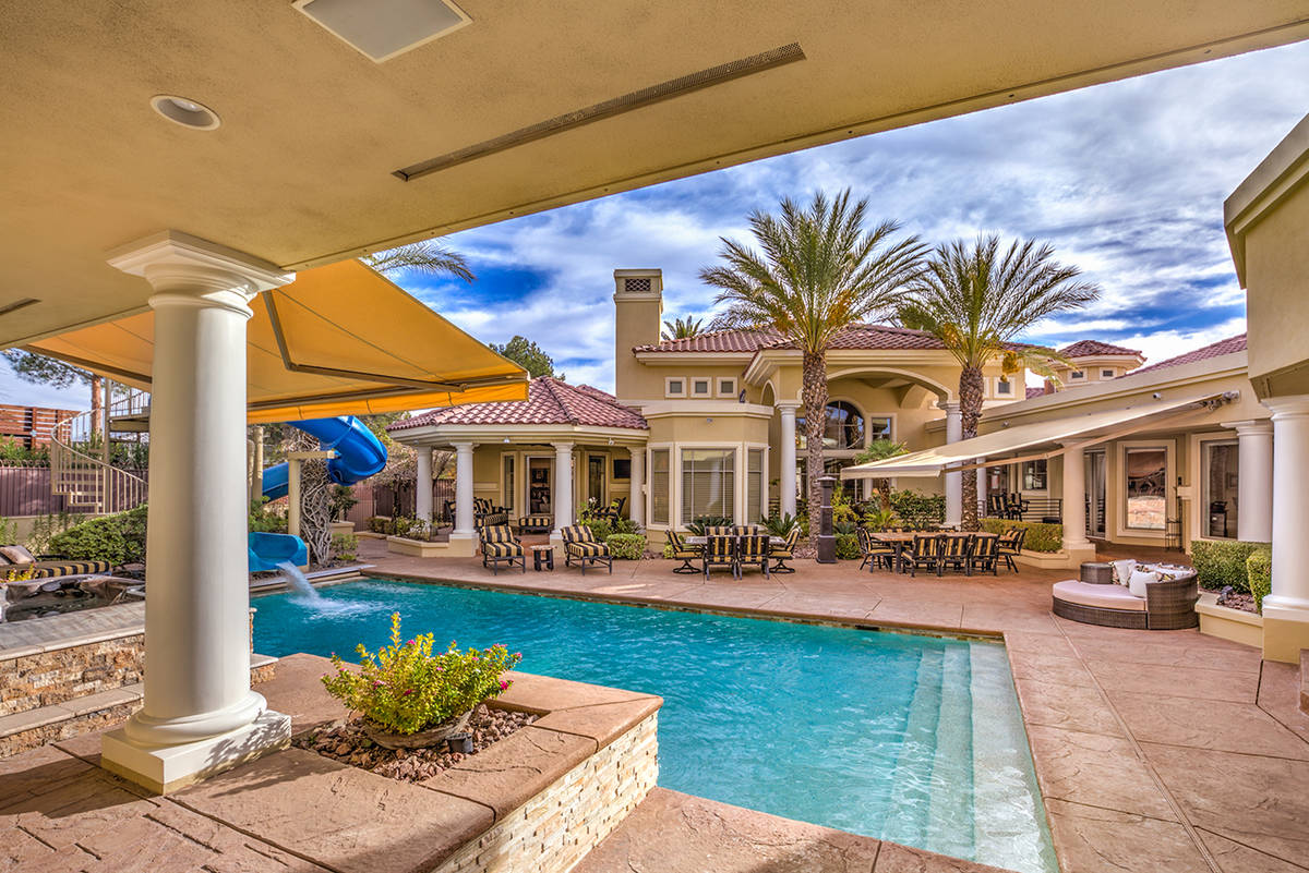 Pool area. (Mark Wiley Group)