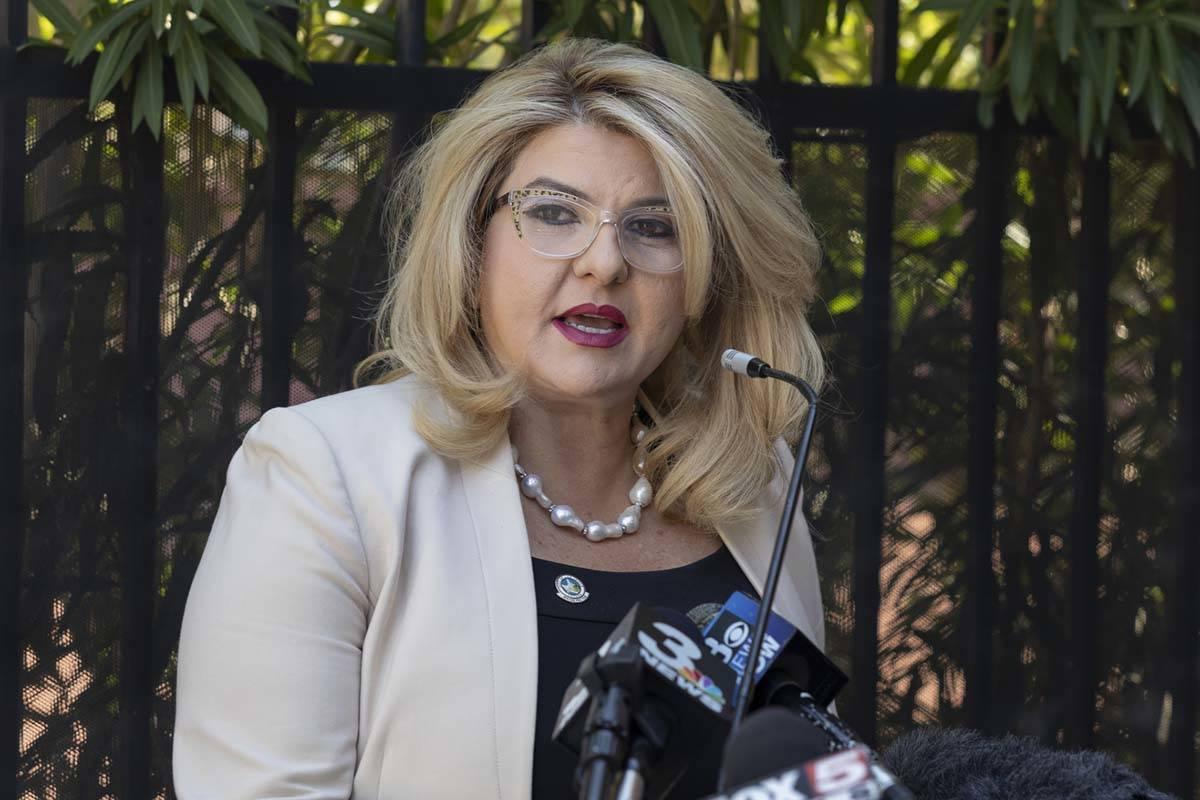 Las Vegas Councilwoman Michele Fiore. (Elizabeth Page Brumley/Las Vegas Review-Journal)