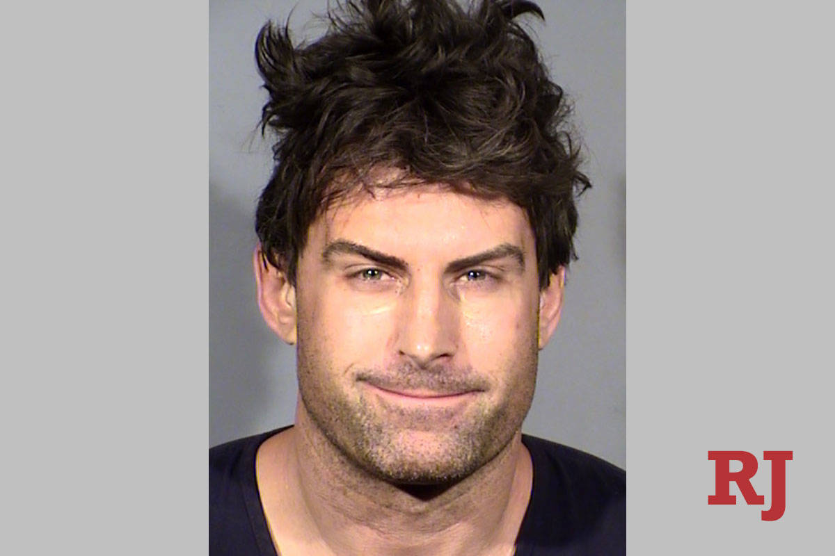 Former NFL linebacker Adam Seward, 38. (Las Vegas Metropolitan Police Department)