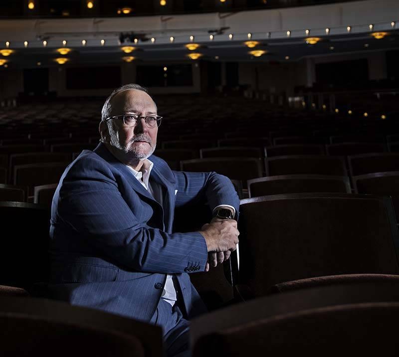 President and CEO Myron Martin at The Smith Center in Las Vegas. (Benjamin Hager/Las Vegas Revi ...