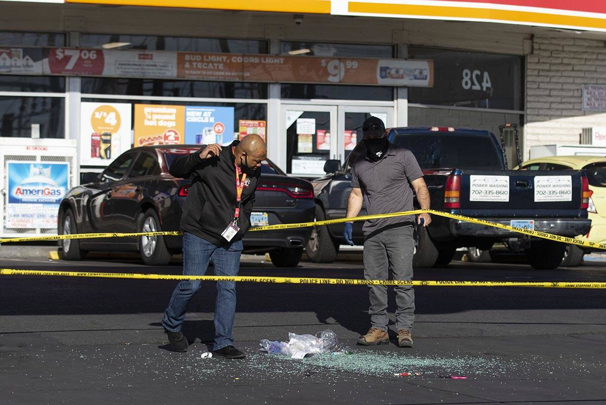 The Metropolitan Police Department is investigating a homicide at a Circle K convenience store ...