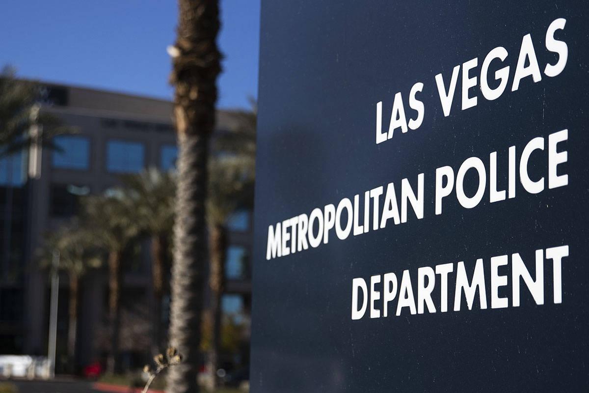 Las Vegas Metropolitan Police Department. (Bizuayehu Tesfaye/Las Vegas Review-Journal) @bizutesfaye