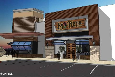 La Neta's lounge will serve hand-shaken margaritas and rare tequilas and mezcals. (81/82 Group)
