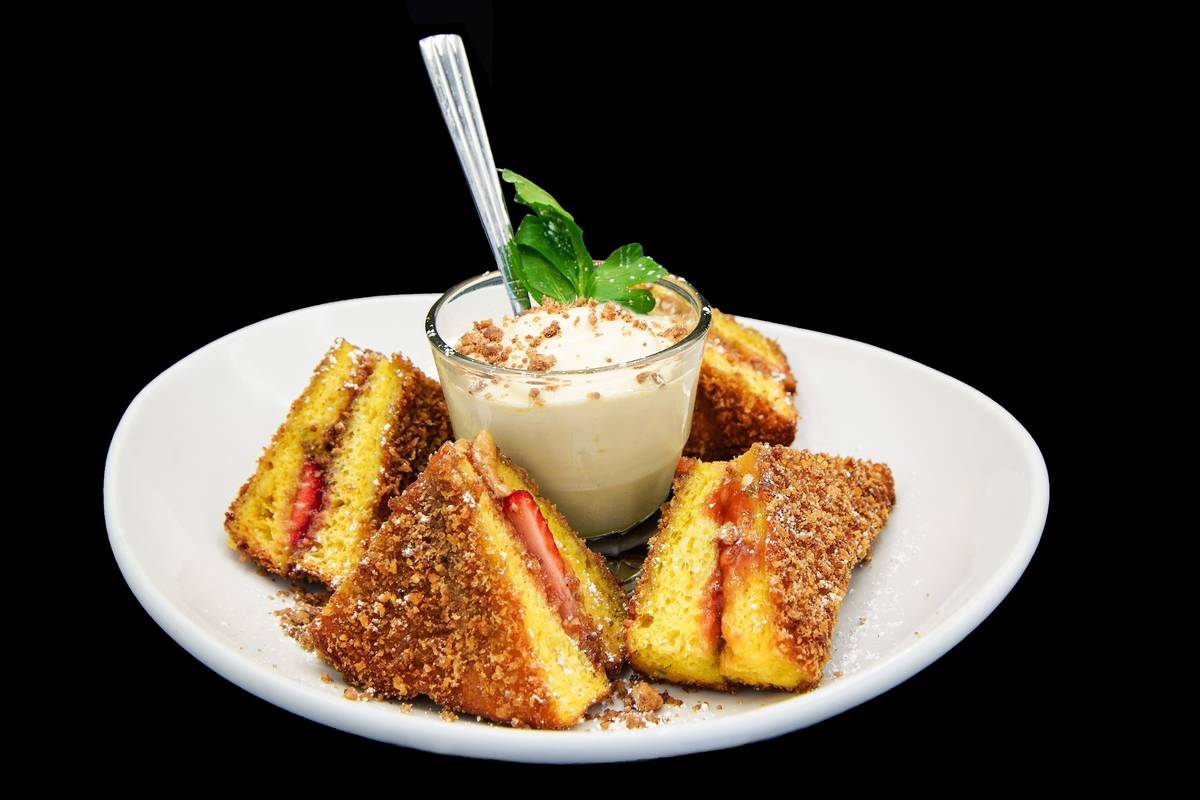 Distill and Remedy's locations offer the Adult PB&J on their happy hour menus. (Distill and Rem ...