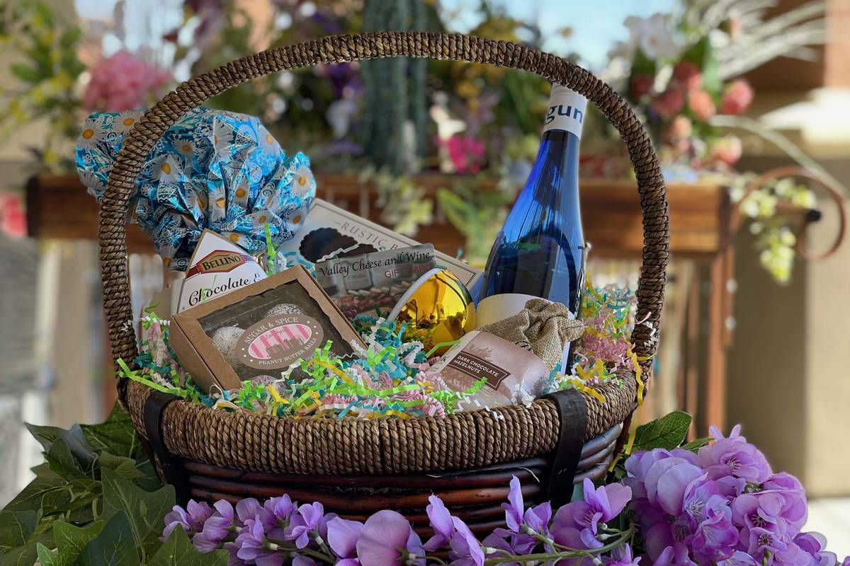 Easter basket from Valley Cheese & Wine. (Valley Cheese & Wine)