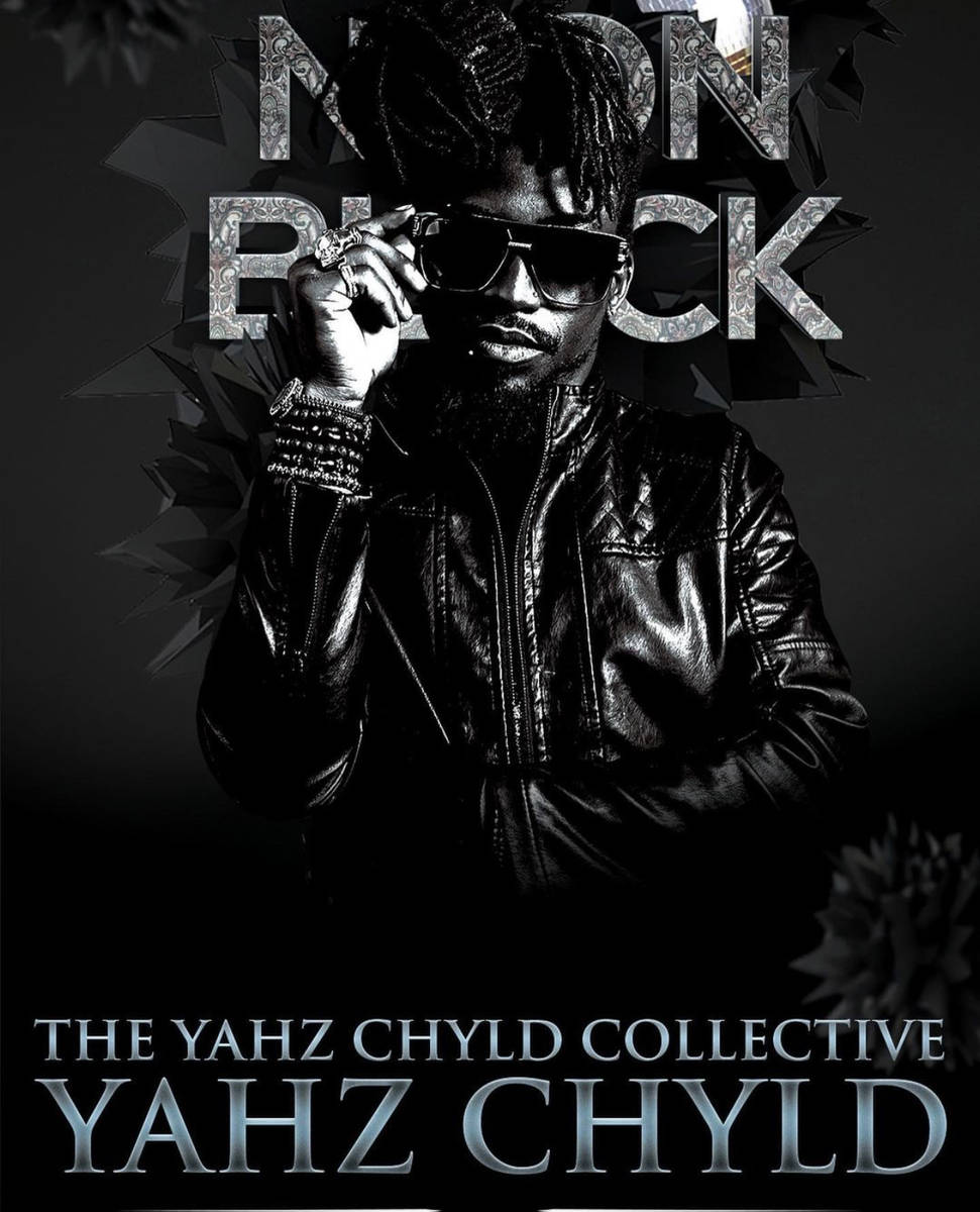 "The ""Neon Black"" show plays The Space on Friday night. (Yahz Chyld)"
