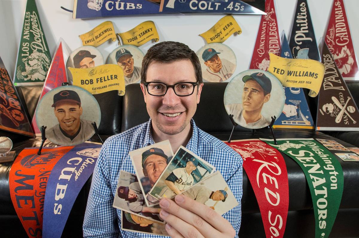 Michael Osacky, Professional Sports Authenticator lead appraiser, says the value of baseball an ...