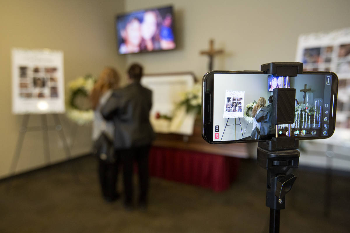 Zarina Bayani Rose's funeral is live-streamed to Facebook at Kraft-Sussman Funeral and Crematio ...