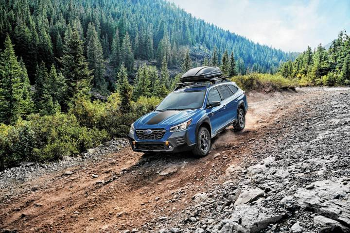 The 2022 Outback Wilderness is the most rugged and capable Outback in history with 9.5-inch gro ...