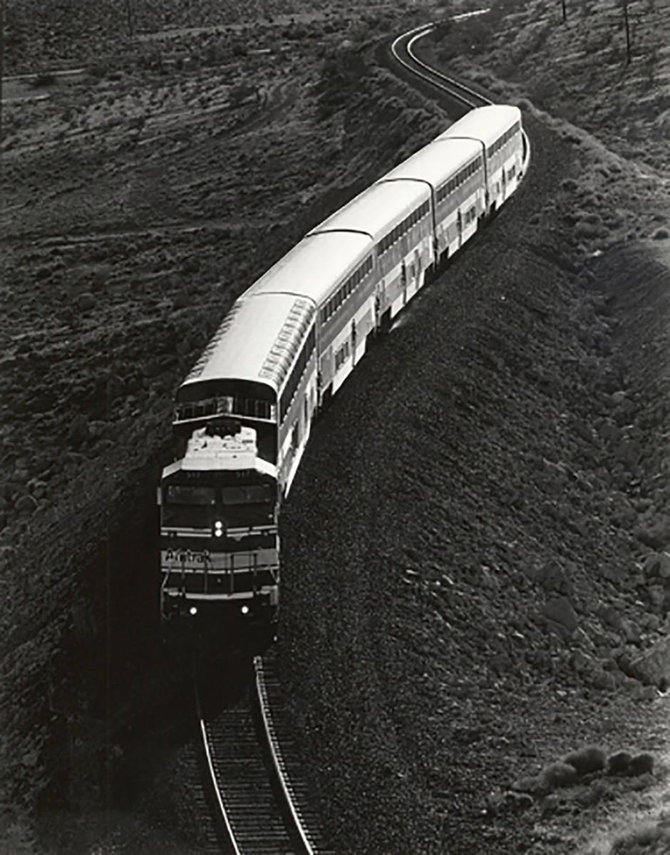 An Amtrak train is seen in 1993. (Las Vegas Review-Journal, file)