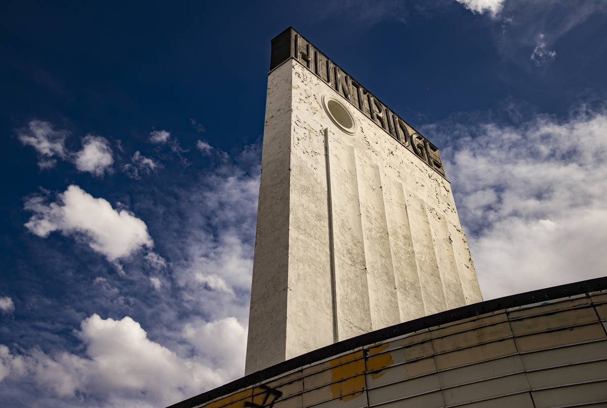 The Huntridge Theater is seen the day after Dapper Companies founder and developer J Dapper clo ...