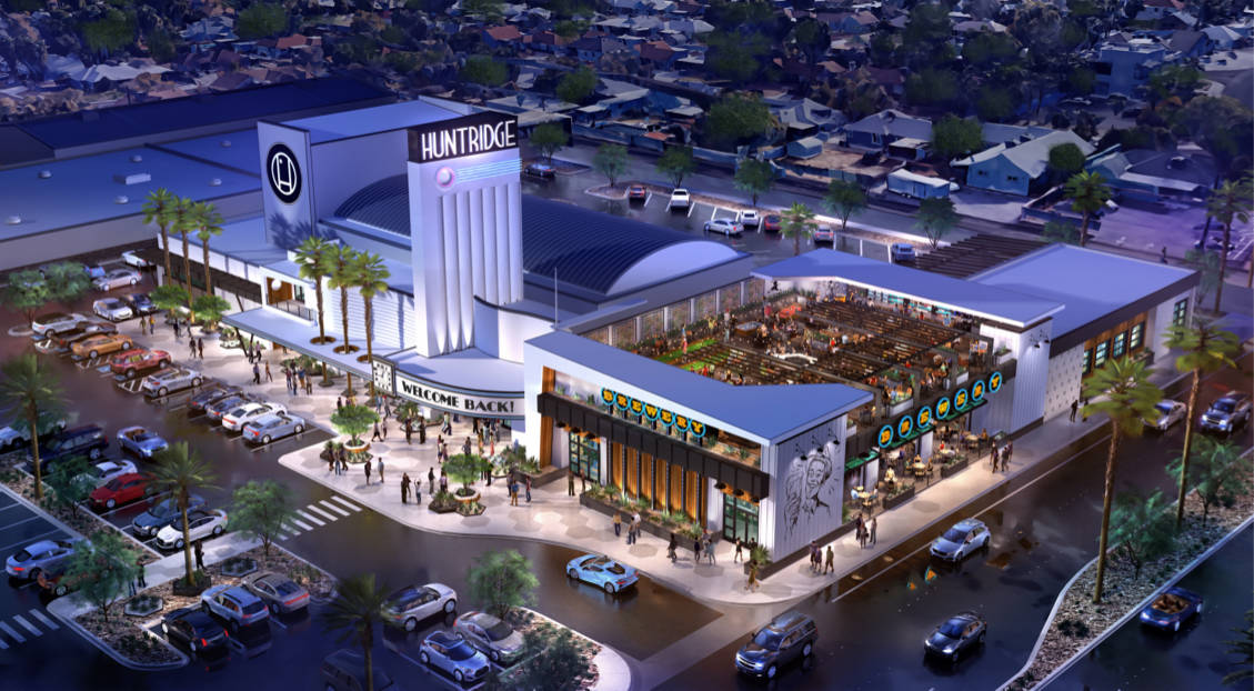 Developer J Dapper recently purchased the shuttered Huntridge Theater in Las Vegas and plans to ...