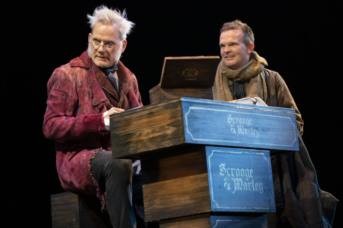 """""""A Christmas Carol"""" will help ring in the holidays Nov. 23-28 as part of The Smith Center's Bro ..."""