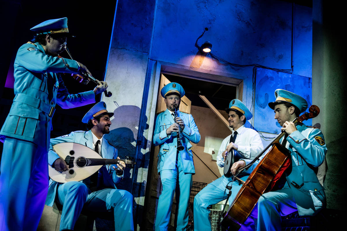 """""""The Band's Visit"""" arrives at The Smith Center Feb. 15-20 as part of the Broadway Las Veg ..."""