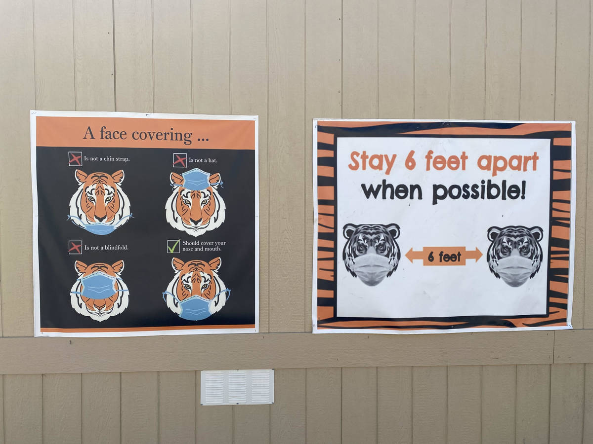 This photo shows posters from Tate Elementary. ( Provided by Sarah Popek, principal at Tate Ele ...