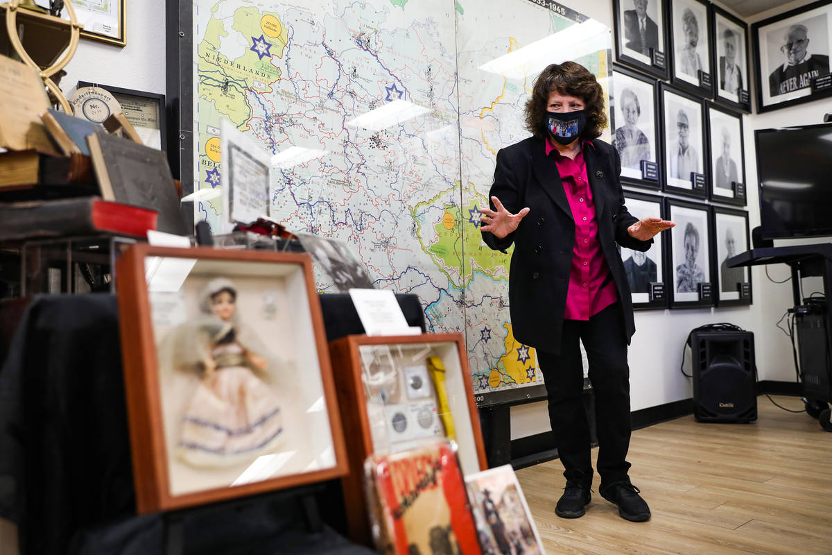 Susan Dubin, library director and education specialist for the Sperling Kronberg Mack Holocaust ...