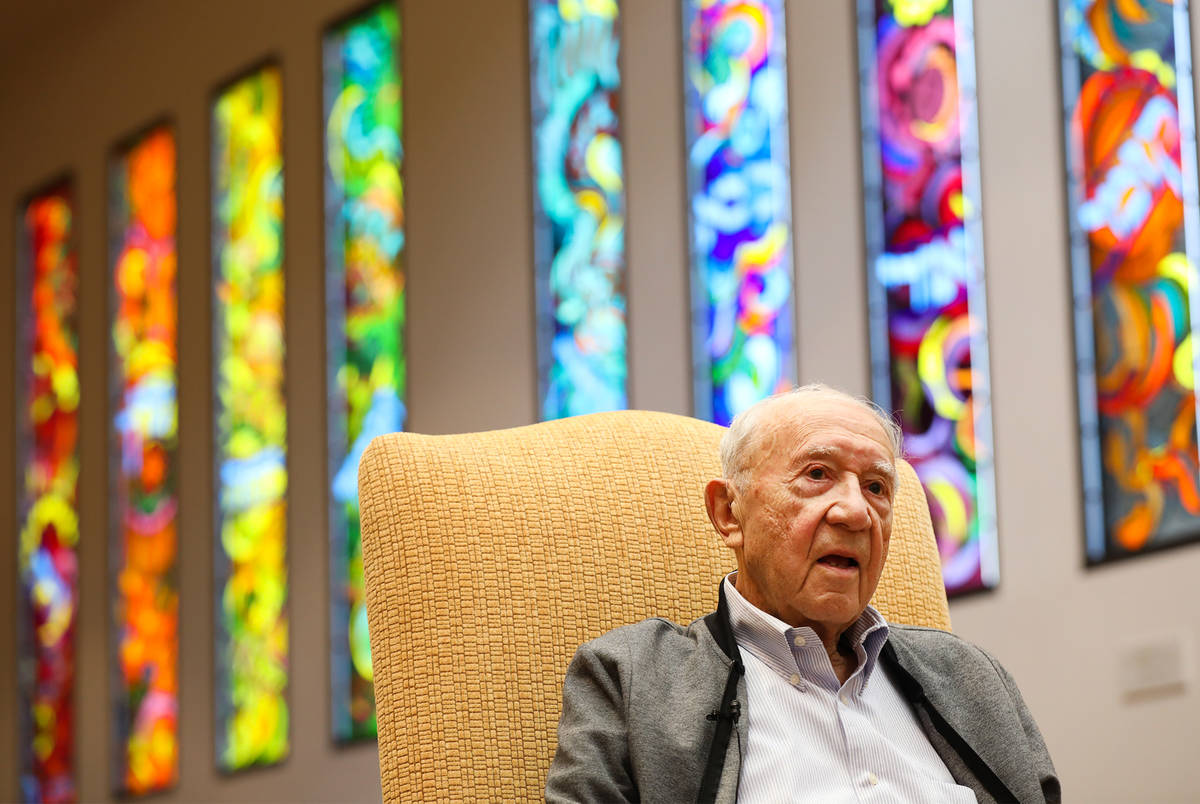 Holocaust survivor Henry Kronberg speaks about his experience and the move of the Sperling Kron ...