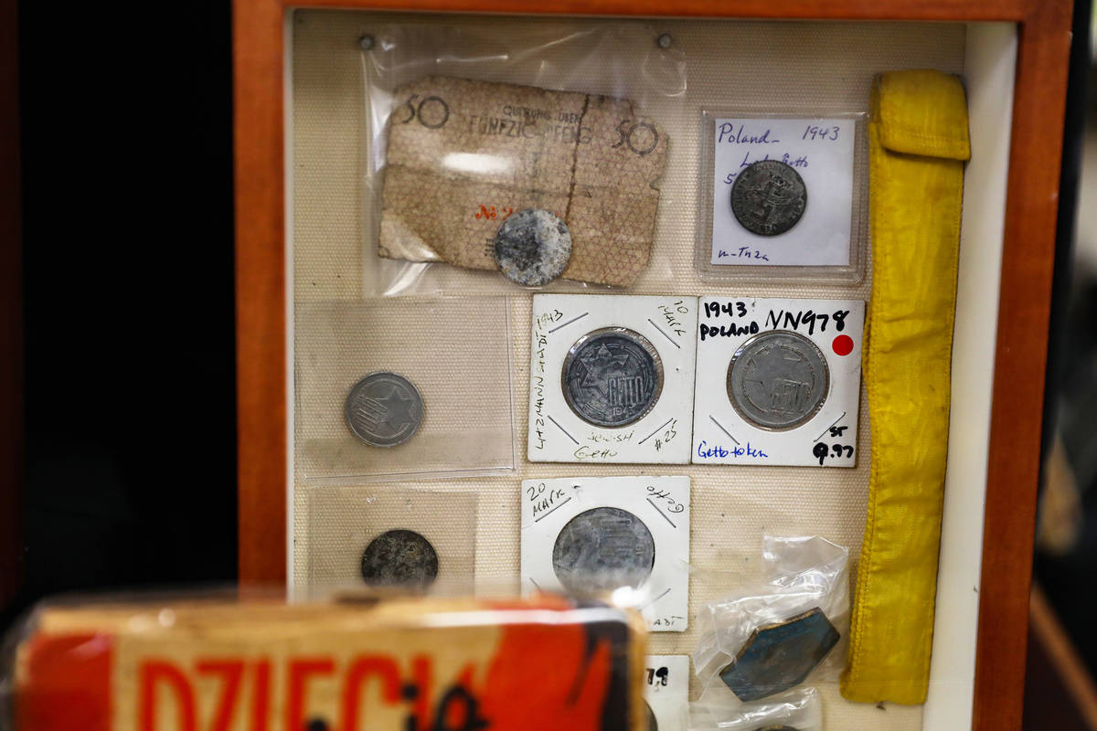 Money from the Lodz Ghetto is included in the collelctoin of the Sperling Kronberg Mack Holocau ...