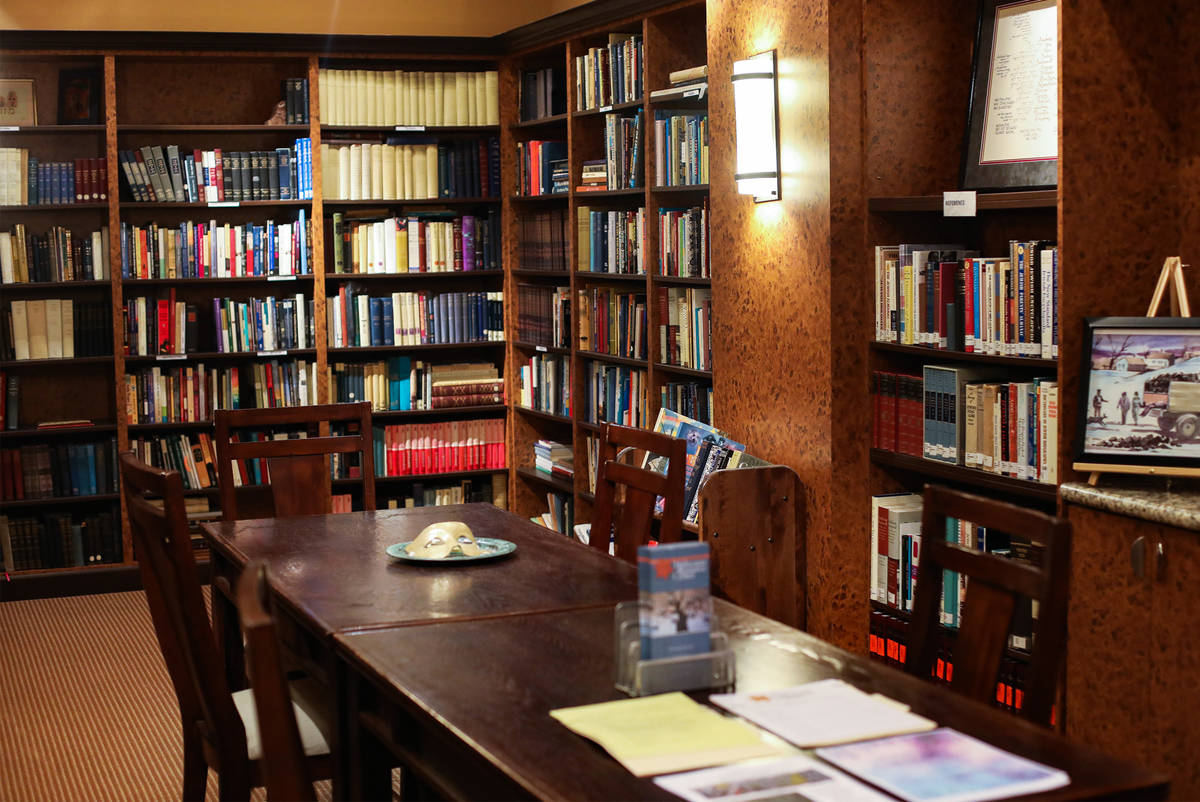 The Sperling Kronberg Mack Holocaust Resource Center's collection consists of about 5,000 items ...